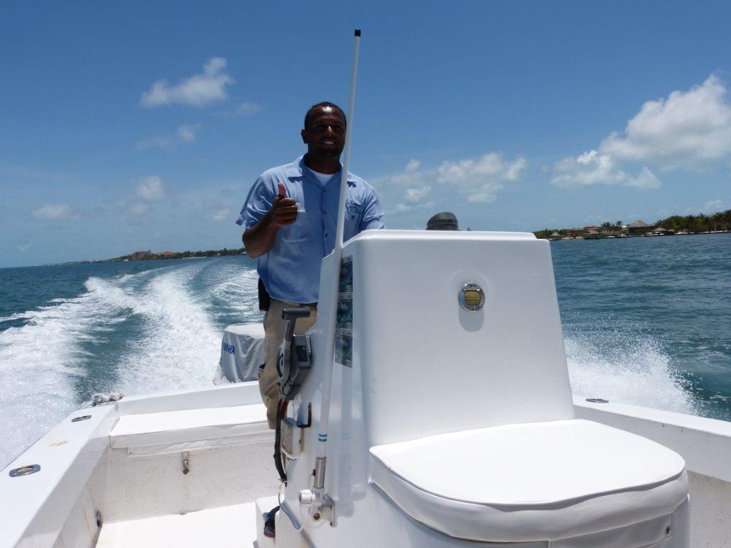 Boat Captain Eroy