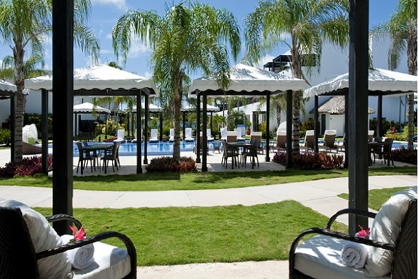 Resort View Residence patio